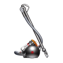 DYSON 214887-01 BIG BALL MULTI FLOOR CANISTER VACUUM CLEANER