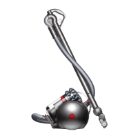 DYSON 214895-01 CINETIC BIG BALL ANIMAL CANISTER VACUUM CLEANER