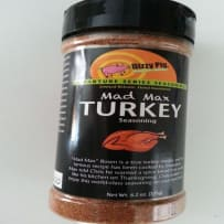 DIZZY PIG  MAD MAX TURKEY BBQ RUB 8 OZ