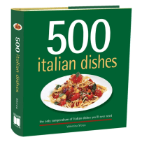 RSVP  500 ITALIAN DISHES COOKBOOK