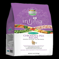 PURINA FEED 3003690-746 5 LB INFINIA GRAIN-FREE CHICKEN & PEAS CAT FOOD