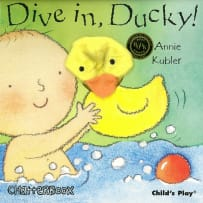 HOUSE OF MARBLES 390101 DIVE IN DUCKY PUPPET BOOK