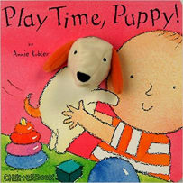 HOUSE OF MARBLES 390102 PLAY TIME PUPPY PUPPET BOOK