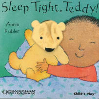 HOUSE OF MARBLES 390103 SLEEP TIGHT TEDDY PUPPET BOOK