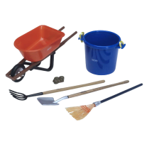 BREYER  2477 STABLE CLEANING SET