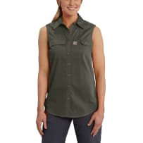 CARHARTT 102478-307 LADIES SML RIDGEFIELD SLEEVELESS