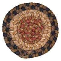 HOMESPICE 790040 BRAIDED COASTER 4 INCH SAN ANTONIO