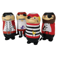 HOUSE OF MARBLES 50-013N WIND-UP PIRATE TORCH
