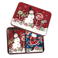 LANG 2179006 PEPPERMINT CHRISTMAS PLAYING CARDS