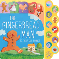 HOUSE OF MARBLES 390195 THE GINGERBREAD MAN SOUNDS