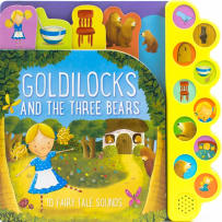 HOUSE OF MARBLES 390196 GOLDILOCKS AND THE THREE BEARS SOUND