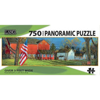 LANG 5041010 AMERICAN FARM 750 PIECE PANORAMIC PUZZLE