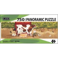 LANG 5041011 APPLE ORCHARD 750 PIECE PANORAMIC PUZZLE