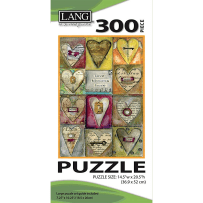 LANG 5040102 KEY TO MY HEART 300 PIECE PUZZLE