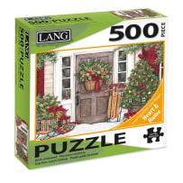 LANG 5039115 HOLIDAY DOOR 500 PIECE PUZZLE