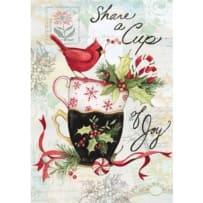 LANG 2004532 HOLIDAY TEA PETITE CHRISTMAS CARDS