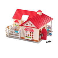 BREYER  59204 STABLEMATES DELUXE ANIMAL HOSPITAL