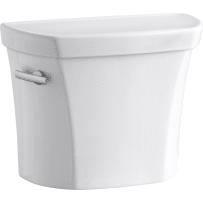 KOHLER K-5311-0 WELLWORTH WHITE 1.28 GPF TANK FOR CONCEALED TRAPWAY BOWL LEFT HAND TRIP LEVER