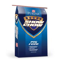 PURINA FEED 3003814-206 50LB HONOR SHOW CHOW SHOWPIG 709