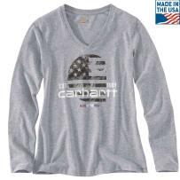 CARHARTT 102768-034 LADIES LRG LUBBOCK GRAPHIC LONG SLEEVE