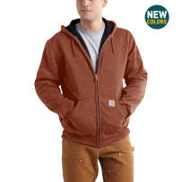 CARHARTT 100632-221 XLG THERMAL LINED FULL ZIP