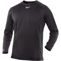MILWAUKEE 401G-L WORKSKIN COLD WEATHER BASE LAYER DARK GRAY L