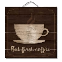 HIGHLAND  75-00103 BUT COFFEE FIRST 3D PALLET SIGN 12X12