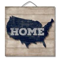 HIGHLAND  75-00101 HOME 3D PALLET SIGN 12X13