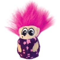 PETSTAGES 203288 FUZZY TROLL BALL CATNIP TOY PURPLE SMALL