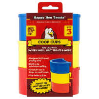 HAPPY HEN TREATS 698965 COOP CUPS 3 PACK ASSORTED