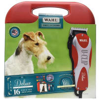 WAHL CLIPPER 019273 DELUXE 16 PIECE PET CLIPPER KIT WITH DVD