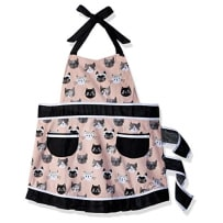 NOW DESIGNS 607019 CATS MEOW BETTY APRON