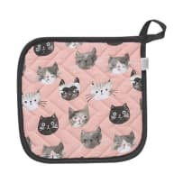 NOW DESIGNS 803889 CATS MEOW POTHOLDLER
