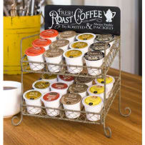 COLONIAL TIN WORKS 811170T ROAST COFFEE K-CUP CADDY