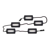 KEYSTONE LED 420-5US LED 5000 LUMEN 50' 5-HEAD STRING LIGHT