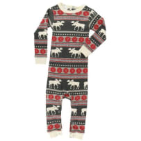 LAZY ONE US269 MOOSE FAIR ISLE UNIONSUIT 18 MONTH