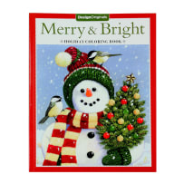 FOX CHAPEL PUBLISHING D05822 MERRY & BRIGHT HOLIDAY COLORING BOOK