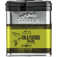 TRAEGERGRILLS SPC176 FIN AND FEATHER RUB 8.25 OZ