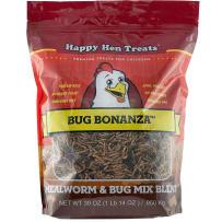HAPPY HEN TREATS 698979 BUG BONANZA POULTRY TREAT 30 OZ