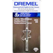 DREMEL 664DR 1.6 AND 2MM DIAMOND FLIP DRILL BIT