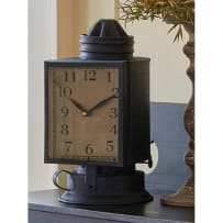 PARK DESIGNS 21-055 COACH OIL LANTERN CLOCK