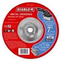 FREUD DBD070250B01F DIABLO 7 INCH METAL GRINDING DISC TYPE 27 HUB