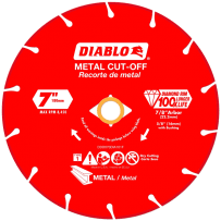 FREUD DDD070DIA101F DIABLO 7 INCH DIAMOND METAL CUT-OFF BLADE
