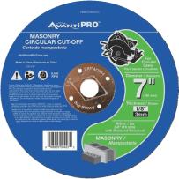 FREUD PBD070125L01C AVANTI PRO 7 INCH X 1/8 INCH MASONRY CUT-OFF