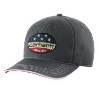 CARHARTT 103047-029 ONE SIZE FLAG PATCH CAP