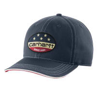 CARHARTT 103047-412 ONE SIZE FLAG PATCH CAP