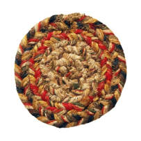 HOMESPICE 590565 BRAIDED COASTER 4 INCH PRESCOTT