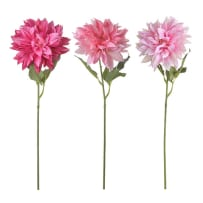DARICE 30048425 LONGSTEM DAHLIA PICK ASSORTED COLORS 29 INCH