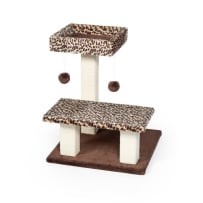 PREVUE PET PRODUCTS 067458 KITTY POWER PAWS LEOPARD TERRACE