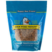 HAPPY HEN TREATS 698982 DUCK POND MEDLY DUCK AND GOOSE TREATS 2 LB